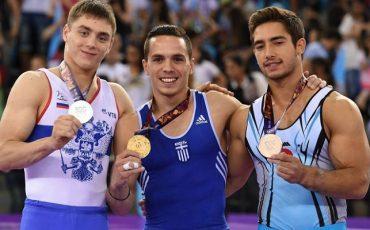 petrounias-baku-medals-podium