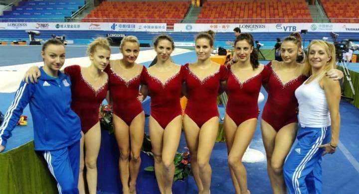 3981b2ebe11 Αποστολή εξετελέσθη για την Εθνική γυναικών στο παγκόσμιο πρωτάθλημα  ενόργανης